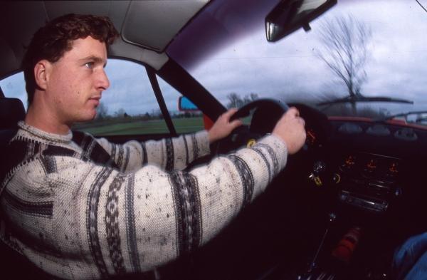 Eddie Irvine at home in IrelandFormula One Drivers At Home
