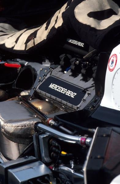 The race winning Mercedes-Benz engine powering the Penske of Al Unser Jnr (USA).PPG Indycar series, Indianapolis 500 Qualifying, Indianapolis, USA, 9 Ð 13 May 1994. Catalogue Ref.: 40-126Sutton Motorsport Images Catalogue