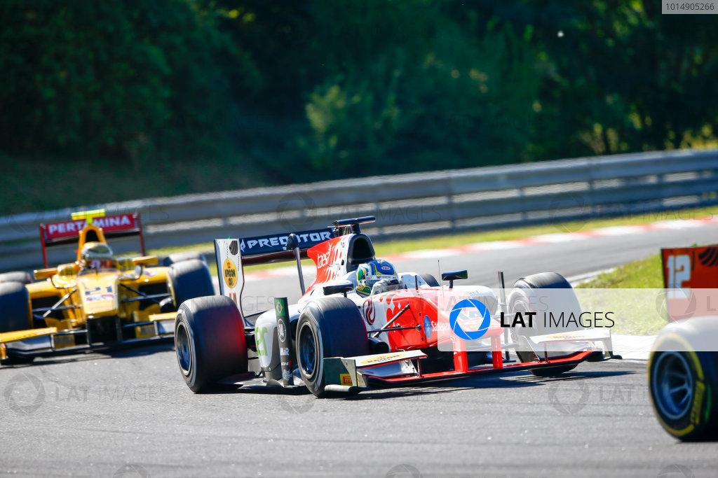 Hungaroring, Budapest, Hungary. Saturday 29 July 2017 Sergio Sette Camara (BRA, MP Motorsport).  Photo: Hone/FIA Formula 2 ref: Digital Image _ONZ9848