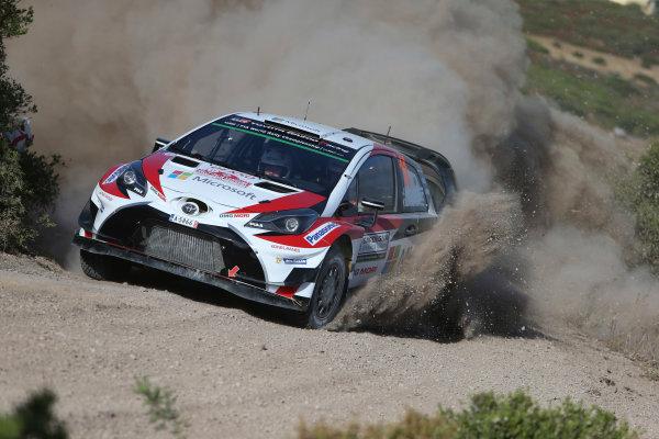 2017 FIA World Rally Championship, Round 07, Rally Italia Sardegna, June 8-11, 2017, Juho Hanninen, Toyota, action Worldwide Copyright: McKlein/LAT