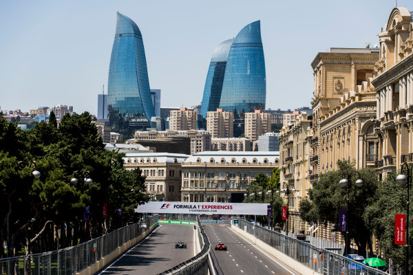 2017 FIA Formula 2 Round 4. Baku City Circuit, Baku, Azerbaijan. Friday 23 June 2017. Artem Markelov (RUS, RUSSIAN TIME)  Photo: Zak Mauger/FIA Formula 2. ref: Digital Image _56I6684