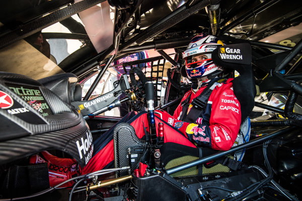 2017 Supercars Championship Round 6.  Darwin Triple Crown, Hidden Valley Raceway, Northern Territory, Australia. Friday June 16th to Sunday June 18th 2017. Jamie Whincup driver of the #88 Red Bull Holden Racing Team Holden Commodore VF. World Copyright: Daniel Kalisz/LAT Images Ref: Digital Image 180617_VASCR6_DKIMG_4482.jpg