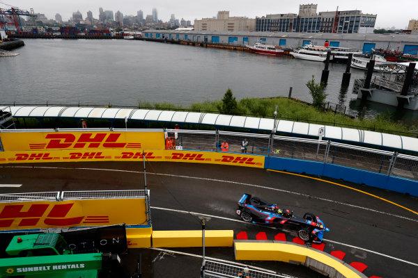 2016/2017 FIA Formula E Championship. Round 9 - New York City ePrix, Brooklyn, New York, USA. Friday 14 July 2017. Tom Dillmann (FRA), Venturi, Spark-Venturi, Venturi VM200-FE-02. Photo: Sam Bloxham/LAT/Formula E ref: Digital Image _W6I1713