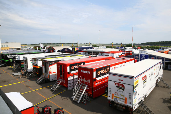 2017 Superbike World Championship - Round 9 Lausitzring, Germany Friday 18 August 2017 Paddock World Copyright: Gold and Goose / LAT Images ref: Digital Image 687411