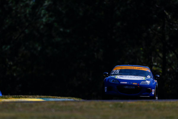IMSA Continental Tire SportsCar Challenge Fox Factory 120 Road Atlanta, Braselton GA Wednesday 4 October 2017 25, Mazda, Mazda MX-5, ST, Chad McCumbee, Stevan McAleer World Copyright: Jake Galstad LAT Images