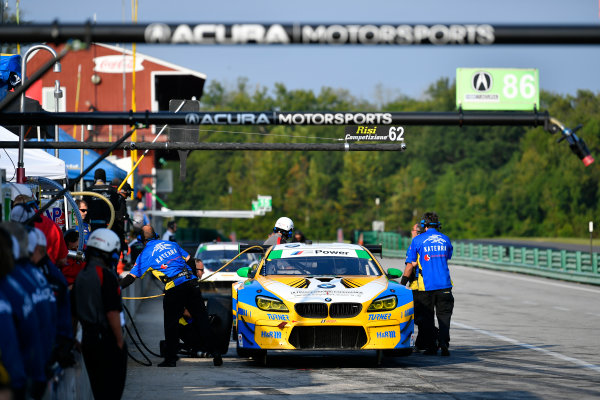IMSA WeatherTech SportsCar Championship Michelin GT Challenge at VIR Virginia International Raceway, Alton, VA USA Saturday 26 August 2017 96, BMW, BMW M6 GT3, GTD, Jesse Krohn, Jens Klingmann World Copyright: Scott R LePage LAT Images
