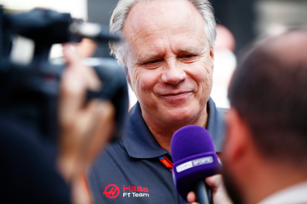 Autodromo Nazionale di Monza, Italy. Friday 01 September 2017. Gene Haas, Team Owner, Haas F1. World Copyright: Andy Hone/LAT Images  ref: Digital Image _ONY6024