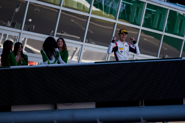 2017 GP3 Series Round 6.  Autodromo Nazionale di Monza, Monza, Italy. Sunday 3 September 2017. George Russell (GBR, ART Grand Prix).  Photo: Zak Mauger/GP3 Series Media Service. ref: Digital Image _56I8887