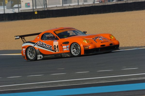 2007 Le Mans Test Day2nd and 3rd June 2007.Le Mans, France.Sunday Test DayTom Kimber-Smith (GBR)/Danny Watts (GBR)/Tom Milner (USA) (no 81 Panoz Esperante GTLM) action.World Copyright: Jeff Bloxham/LAT Photographic. ref: Digital Image DSC_6865