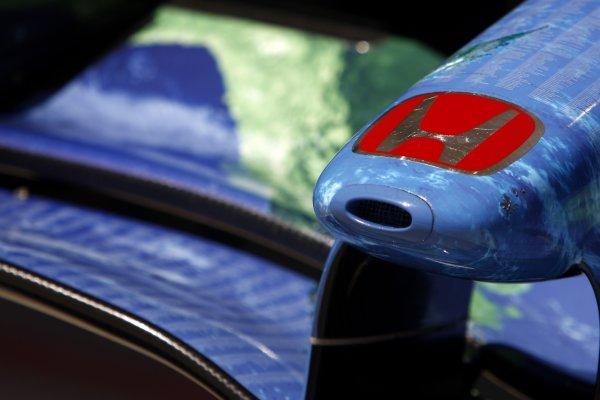 2007 Turkish Grand Prix - ThursdayIstanbul Motor Park, Istanbul, Turkey.23rd August 2007.Honda RA107 nose detail.World Copyright: Andrew Ferraro/LAT Photographicref: Digital Image _H0Y3524