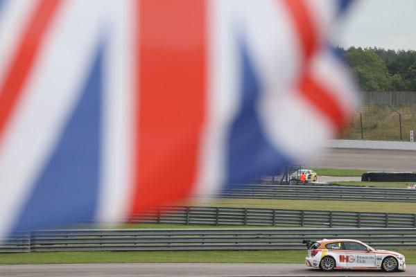 2015 British Touring Car Championship, Rockingham, 5th-6th September 2015, Nick Foster (GBR) WSR BMW 120 World copyright. Jakob Ebrey/LAT Photograhic