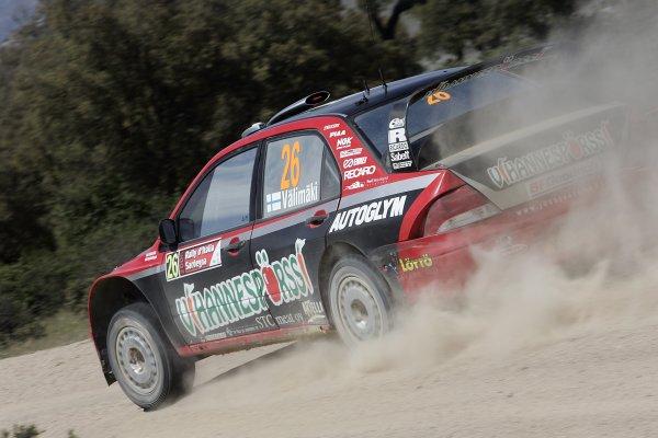 2006 FIA World Rally Championship.Round 7. 18th - 21st May 2006.Rally of Italy, Sardinia.Jussi Valimaki, Hyundai, action.World Copyright: McKlein/LAT