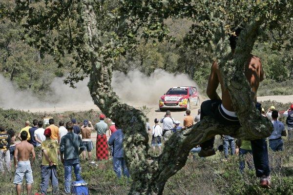 2006 FIA World Rally Championship.Round 7. 18th - 21st May 2006.Rally of Italy, Sardinia.Daniel Sordo, Citroen, action.World Copyright: McKlein/LAT