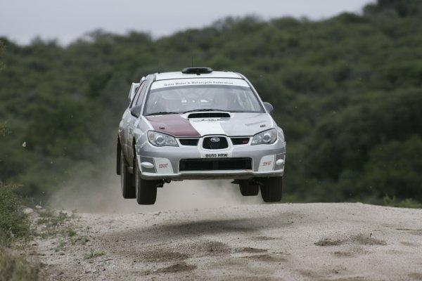 2006 FIA World Rally Champs. Round 6Rally Argentina. 27th-30th April 2006Nasser Al-Attiyah, Subaru, action.World Copyright: McKlein/LAT
