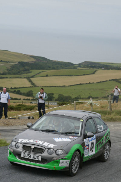 Iain Henderson/Paul Farley. Manx International Rally. July 31st - August 2nd 2003. World copyright Jakob Ebrey/Lat Photographic.