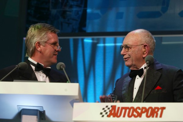 2003 AUTOSPORT AWARDS, The Grosvenor, London. 7th December 2003.