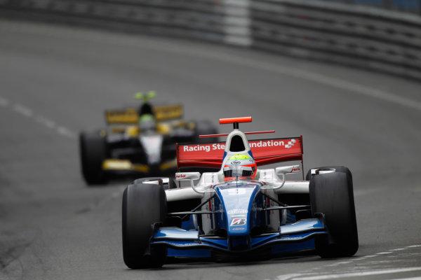 Monte Carlo, Monaco. 15th May 2010. Saturday Race.Oliver Turvey (GBR, iSport International). Action. Photo: Andrew Ferraro/GP2 Media Service.Ref: _Q0C7401 jpg