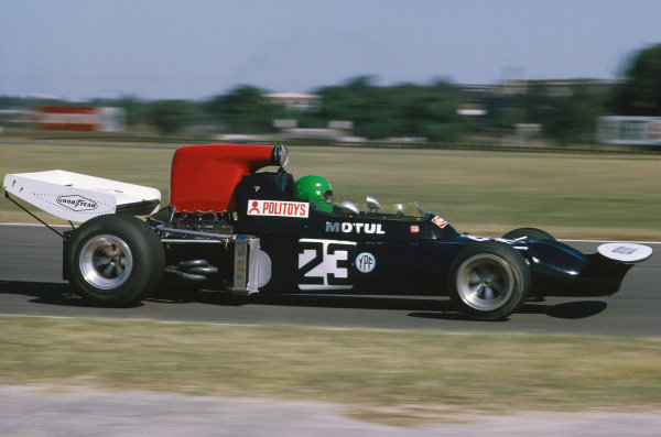 1972 Argentinian Grand Prix.  Buenos Aires, Argentina. 21st-23rd January 1972.  Henri Pescarolo, March 721 Ford, 8th position.  Ref: 72ARG67. World Copyright: LAT Photographic