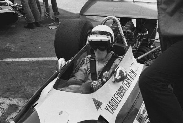 1970 United States Grand Prix. Watkins Glen, New York, USA. 2nd - 4th October 1970. Peter Westbury (B.R.M. P153), DNQ, portrait.  World Copyright: LAT Photographic. Ref: 3348 - 0-00A.