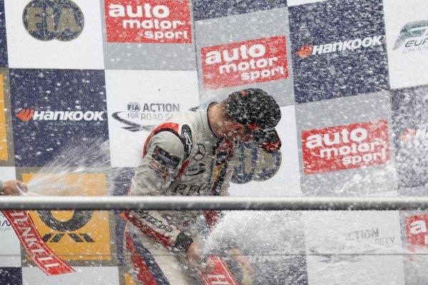 Championship Podium, Alex Lynn (GBR) PREMA POWERTEAM Dallara F312 Mercedes