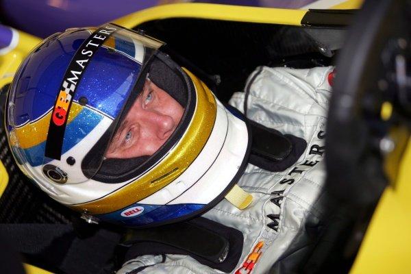 Stefan Johansson (SWE). Grand Prix Masters Testing, Day One, Silverstone, England, 26 October 2005. DIGITAL IMAGE