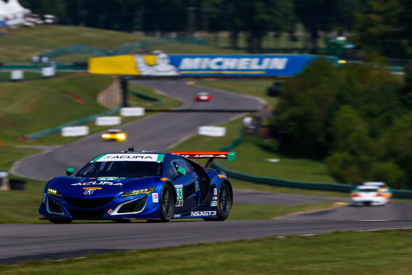 IMSA WeatherTech SportsCar Championship Michelin GT Challenge at VIR Virginia International Raceway, Alton, VA USA Friday 25 August 2017 93, Acura, Acura NSX, GTD, Andy Lally, Katherine Legge World Copyright: Jake Galstad LAT Images