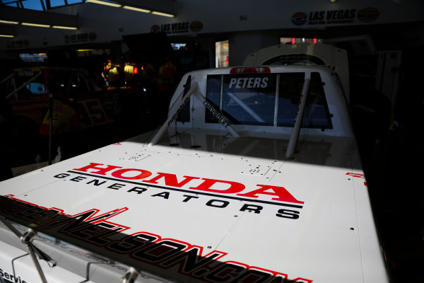 NASCAR Camping World Truck Series Las Vegas 350 Las Vegas Motor Speedway, Las Vegas, NV USA Saturday 30 September 2017 Timothy Peters, Randco/Young's Building Systems Chevrolet Silverado, Honda Generators World Copyright: Barry Cantrell LAT Images