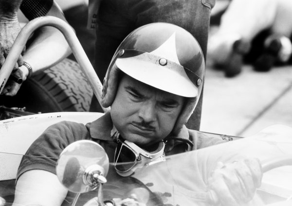 Nurburgring, Germany. 3 - 5 August 1962.Jay Chamberlain (Lotus 18-Climax), DNQ, portrait. World Copyright: LAT Photographic.Ref:  L1252 - 5A.