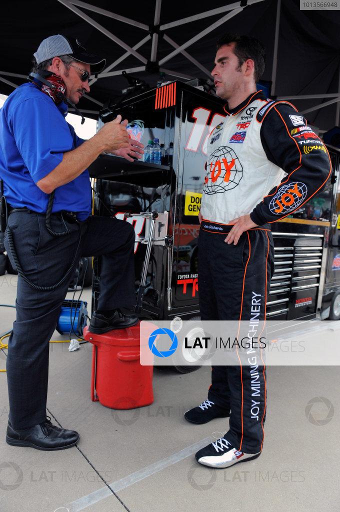 22 July, 2011, Lebanon, Tennessee USAJosh Richards and Rick Ren(c)2011, LAT SouthLAT Photo USA