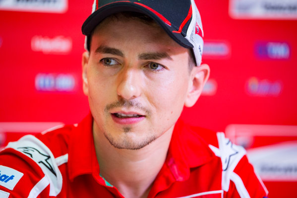 2017 MotoGP Championship - Round 10 Brno, Czech Republic Friday 4 August 2017 Jorge Lorenzo, Ducati Team World Copyright: Gold and Goose / LAT Images ref: Digital Image 49902