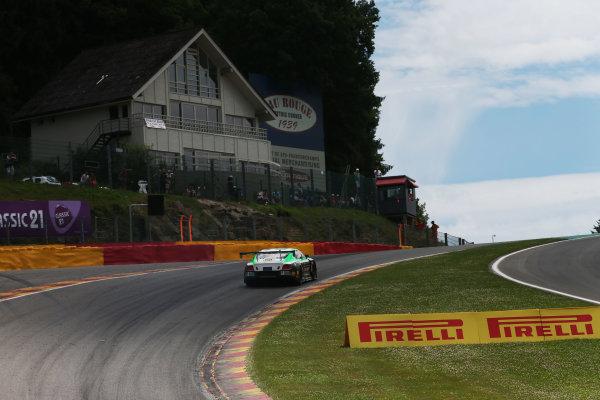 2017 British GT Championship, Spa-Francorchamps, Belgium. 7th - 8th July 2017. Ian Loggie / Callum MacLeod Team Parker Racing Bentley Continental GT3. World Copyright: JEP/LAT Images.