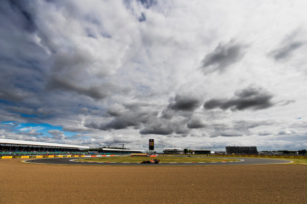 Silverstone, Northamptonshire, UK. Friday 14 July 2017. Stoffel Vandoorne, McLaren MCL32 Honda. World Copyright: Zak Mauger/LAT Images ref: Digital Image _56I8710