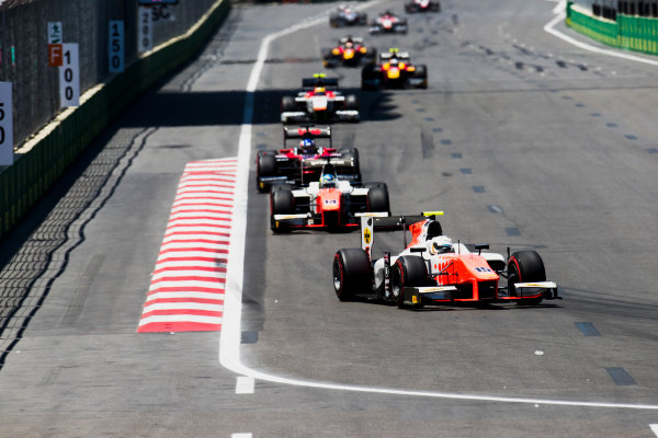 2017 FIA Formula 2 Round 4. Baku City Circuit, Baku, Azerbaijan. Saturday 24 June 2017. Jordan King (GBR, MP Motorsport)  Photo: Zak Mauger/FIA Formula 2. ref: Digital Image _54I1160