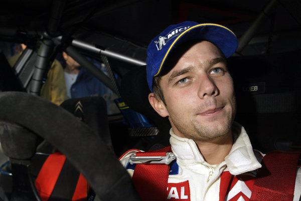 2003 FIA World Rally Championship. Monte Carlo, Monaco. Rd1.23-26 January 2003.Sebastien Loeb (Citroen) 1st position. World Copyright: McKlein/LAT Photographic