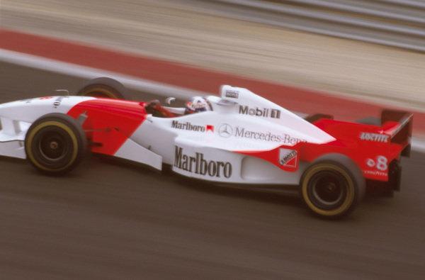 Estoril, Portugal.20-22 September 1996.David Coulthard (McLaren MP4/11B Mercedes) 13th position. World Copyright - LAT Photographic