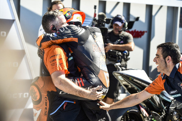 Second place Pol Espargaro, Red Bull KTM Factory Racing