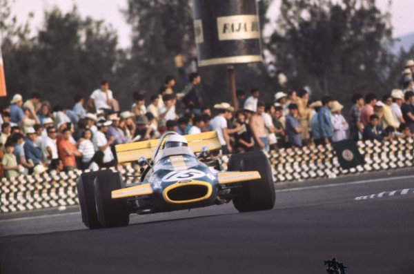 1970 Mexican Grand Prix.Mexico City, Mexico.23-25 October 1970.Jack Brabham (Brabham BT33 Ford).Ref: 70 MEX 61.World Copyright - LAT Photographic