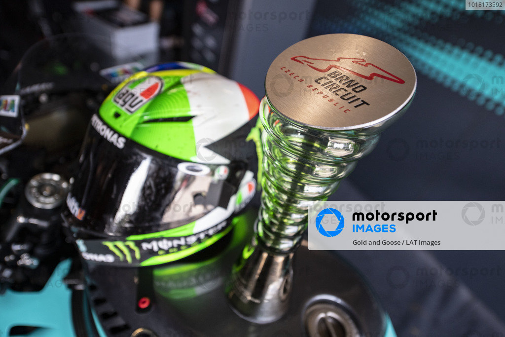 Trophy of Franco Morbidelli, Petronas Yamaha SRT.