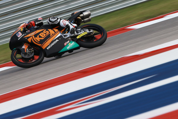 2017 Moto3 Championship - Round 3 Circuit of the Americas, Austin, Texas, USA Friday 21 April 2017 Ayumu Sasaki, SIC Racing Team World Copyright: Gold and Goose Photography/LAT Images ref: Digital Image Moto3-500-1513