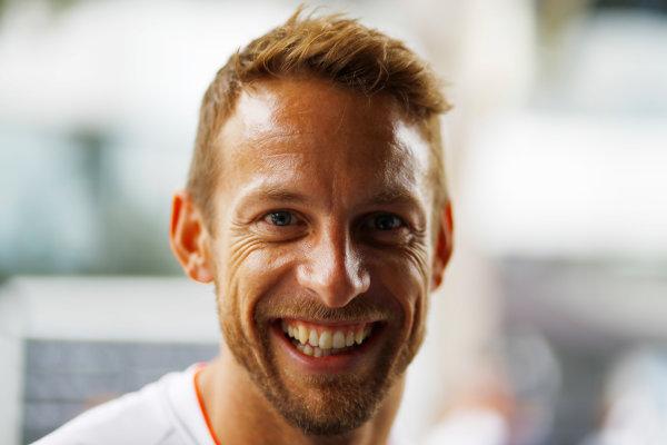 Sepang International Circuit, Sepang, Malaysia. Thursday 29 September 2016. Jenson Button, McLaren. World Copyright: Steven Tee/LAT Photographic ref: Digital Image _O3I9415
