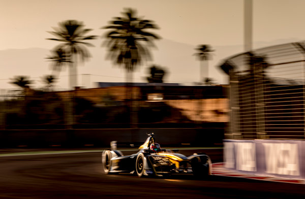 2016/2017 FIA Formula E Championship. Marrakesh ePrix, Circuit International Automobile Moulay El Hassan, Marrakesh, Morocco. Saturday 12 November 2016. Jean-Eric Vergne (FRA), Techeetah, Spark-Renault, Renault Z.E 16.  Photo: Zak Mauger/LAT/Formula E ref: Digital Image _X0W5469