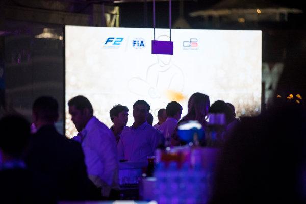 2017 Awards Evening. Yas Marina Circuit, Abu Dhabi, United Arab Emirates. Sunday 26 November 2017.  Photo: Sam Bloxham/FIA Formula 2/GP3 Series. ref: Digital Image _J6I2794