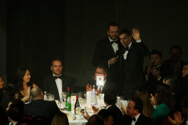 2014 Autosport Awards. Grosvenor House Hotel, Park Lane, London. Sunday 7 December 2014. 2014 GP3 Series Champion, Alex Lynn. World Copyright: Sam Bloxham/LAT Photographic. ref: Digital Image _14P3876