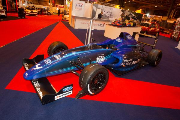 Autosport International Exhibition. National Exhibition Centre, Birmingham, UK. Thursday 8 January 2015. The MSA Stand. World Copyright: LAT Photographic. ref: Digital Image EL0G1816