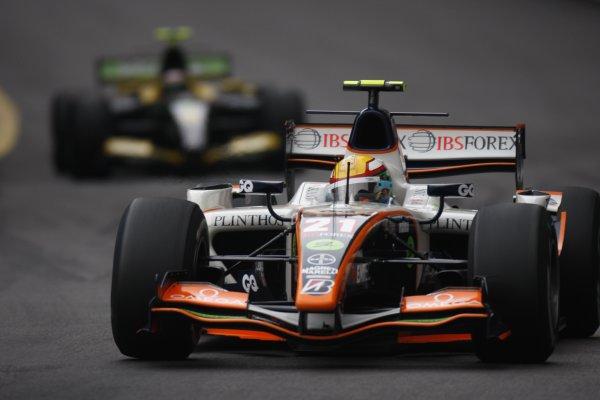 2008 GP2 Series. Round 3. Friday Race. Monte-Carlo, Monaco. 24th May 2008.Ho-Ping Tung (CHN, Trident Racing). Action. World Copyright: Glenn Dunbar/GP2 Series Media Service.ref:__O9T8897 jpg