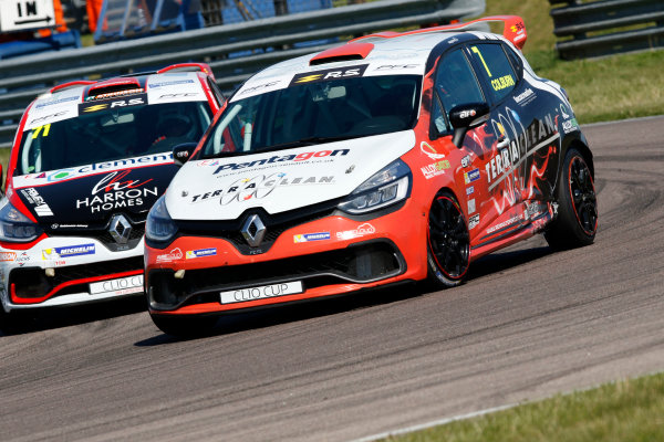 Renault Clio Cup Rockingham, 26th-27th August 2017, James Colburn (GBR) PP Motorsport Renault Clio Cup  World copyright.. JEP/LAT Images