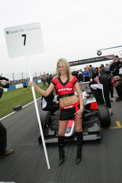 2007 British Formula Three Championship,Donington Park 21st-22nd April 2007,Avon GirlsWorld copyright: Ebrey/LAT Photographic.