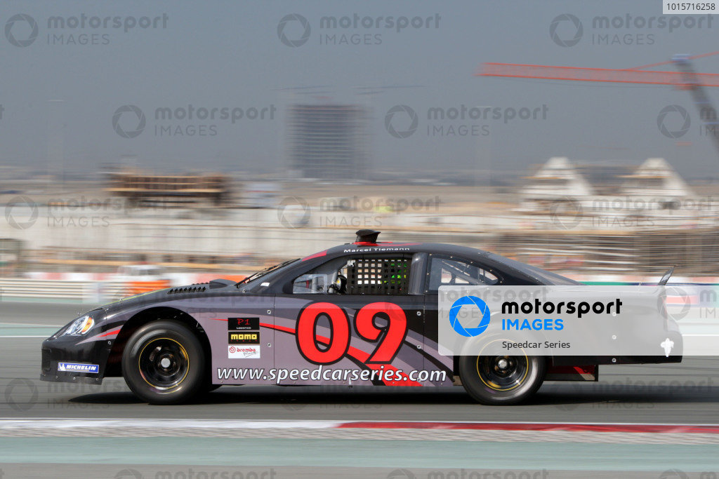 Marcel Tiemann (GER) Continental Circus. Speedcar Series 2008-09, Rd1, Dubai Autodrome, Dubai, United Arab Emirates, 4 December 2008.