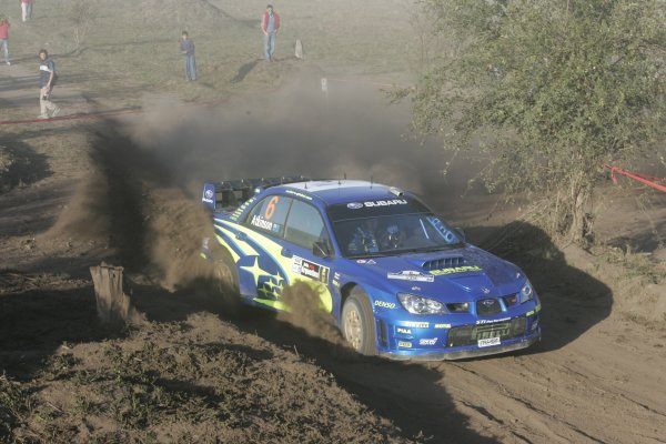 2006 FIA World Rally Champs. Round 6Rally Argentina. 27th-30th April 2006Chris Atkinson, Subaru, action.World Copyright: McKlein/LAT