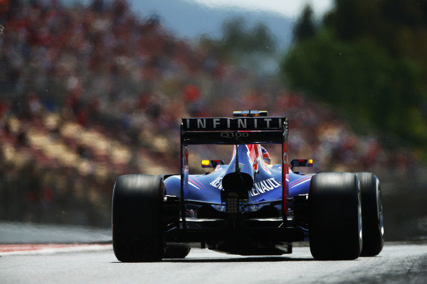 Circuit de Catalunya, Barcelona, Spain. Saturday 10 May 2014. Daniel Ricciardo, Red Bull Racing RB10 Renault. World Copyright: Andy Hone/LAT Photographic. ref: Digital Image _ONY9998